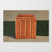 Brazilian's Brick Canvas Print