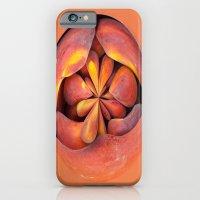 Peach In The Globe 2 iPhone 6 Slim Case