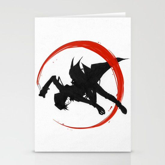 Assassin Stationery Card