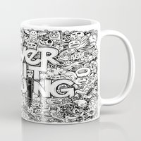 Never Quit Drawing Mug
