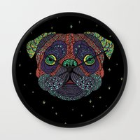 Intergalactic Dog Wall Clock