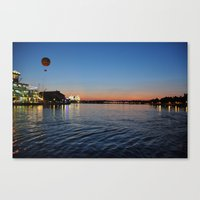 Downtown Disney Sunset I Canvas Print