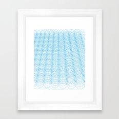 Circle Tromp L'Oeil Framed Art Print