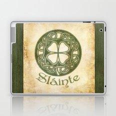 Slainte or To Your Health  Laptop & iPad Skin