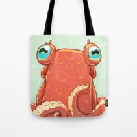 Goldie The Octopus Tote Bag