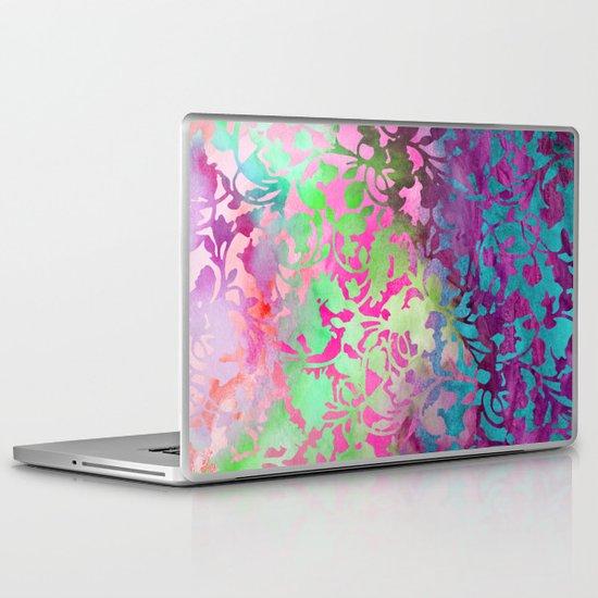 Earth Watercolor by Jacqueline Maldonado & Garima Dhawan Laptop & iPad Skin