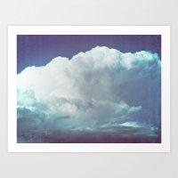 cloud mass Art Print