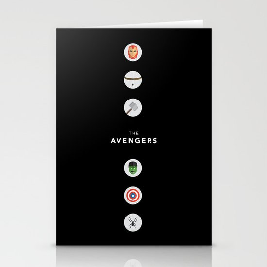 The Avengers Stationery Card