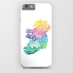 Typographic Ireland Slim Case iPhone 6s