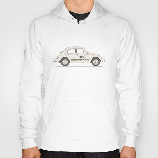 Famous Car #4 - VW Beetle Hoody