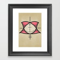 Oise Framed Art Print