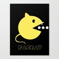 PACRAT Canvas Print