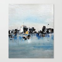 Another Town Canvas Print