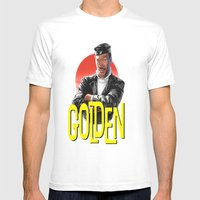 Golden Mens Fitted Tee White SMALL