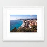 Nice France 6071 Framed Art Print