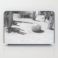 Cacti - in Black & White iPad Case