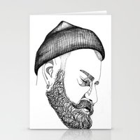 CAP & BEARD Stationery Cards