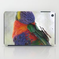 Colorful Bird iPad Case