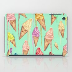 melted ice creams iPad Case