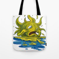 Scared Sunset Tote Bag