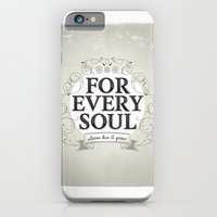 iPhone & iPod Case featuring Every Soul by Kavan and Co