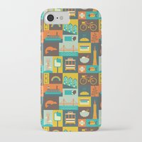 san francisco iPhone & iPod Cases featuring San Francisco by Ariel Wilson