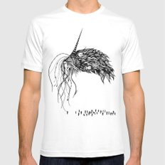 The Eldritch Mens Fitted Tee SMALL White