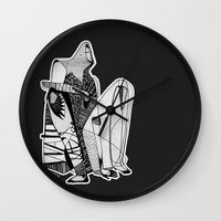 Wait, it's gonna be interesting (touch the ground) - Emilie Record Wall Clock