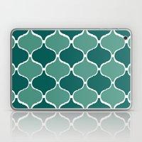 Marrakech Pattern Dark Green Laptop & iPad Skin