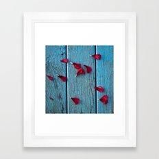 Rows Of Roses Framed Art Print