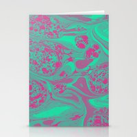Marble Space Stationery Cards