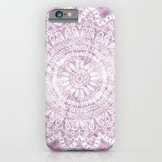 BOHEMIAN FLOWER MANDALA IN PINK Slim Case iPhone 6s