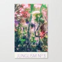 Junglism 3 Canvas Print