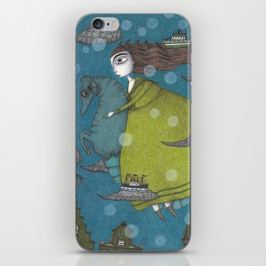 The Sea Voyage iPhone & iPod Skin