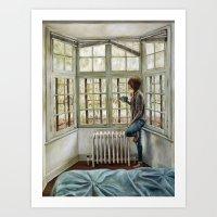 Front Window Art Print