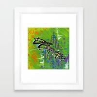 """""""NAMASTE"""" Framed Art Print"""