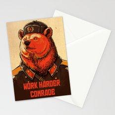 Work Harder, Comrade! Stationery Cards