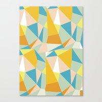 Triangular spectrum Canvas Print