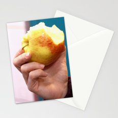 Bite the apple Stationery Cards