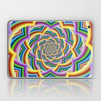Colorful Curved Chevron Spiral Laptop & iPad Skin
