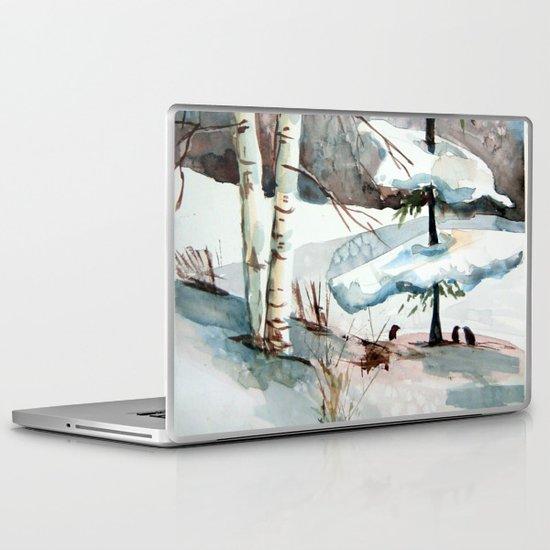 Carol of the Birds Laptop & iPad Skin