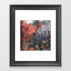 November Impression Framed Art Print