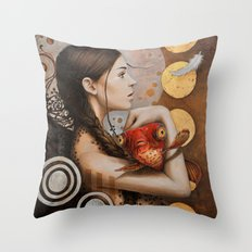 Rouge Throw Pillow
