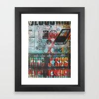 King Jesus Framed Art Print