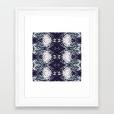 Diamond River Framed Art Print