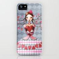Queenofhearts II. iPhone (5, 5s) Slim Case