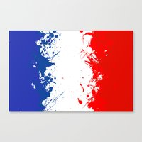 in to the sky, France  Canvas Print