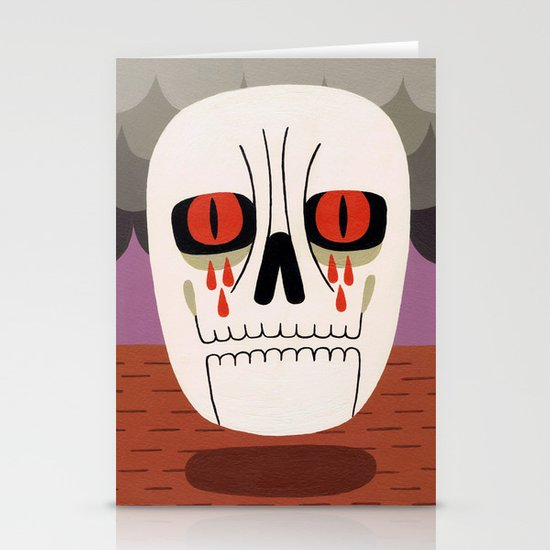 Fear Stationery Card