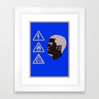 Eden Hazard - IBWM - The 100 Framed Art Print
