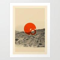 Symbol of Chaos Invert version Art Print